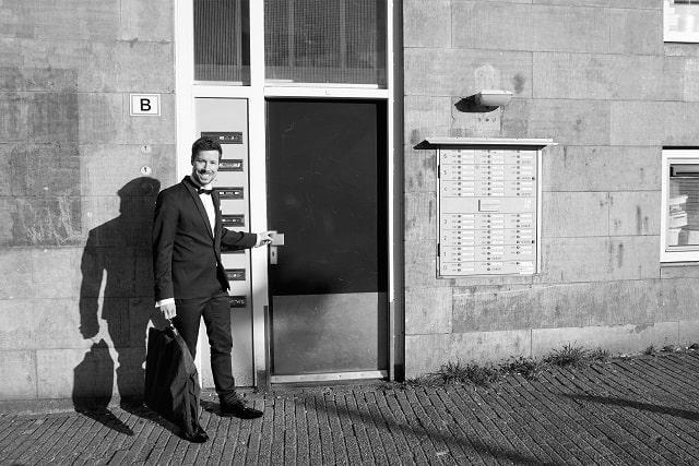 Voordeur Smoking-Huren.nl Prinsengracht